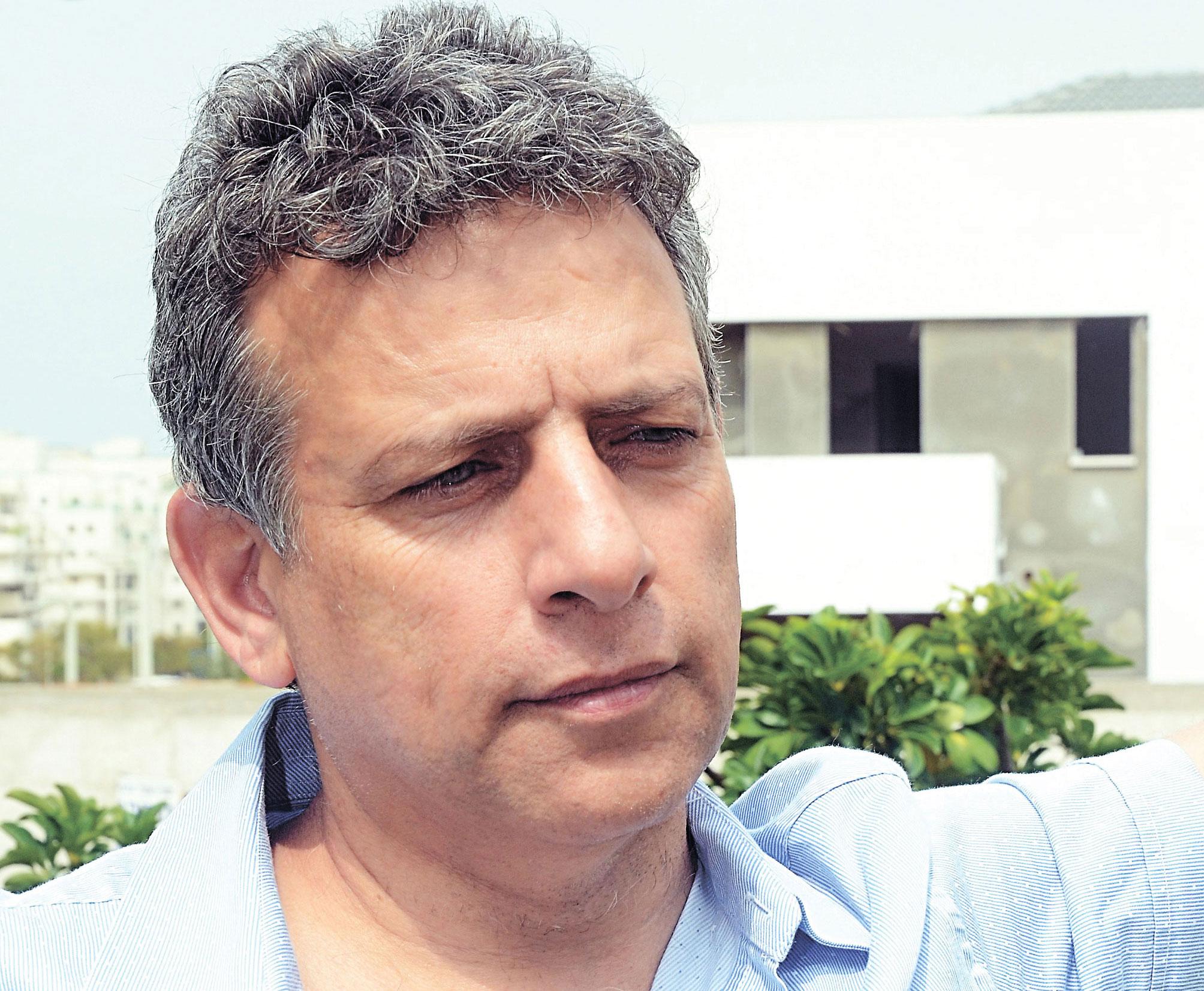 חבר המועצה צדוק בן משה צילום זאב שטרן