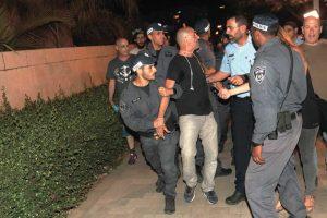 הפגנה בכפר גנים ג' צילום-ניר קידר