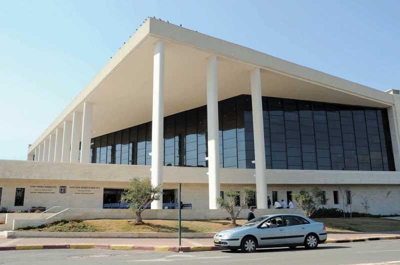 בית משפט השלום בפתח תקוה. צילום זאב שטרן
