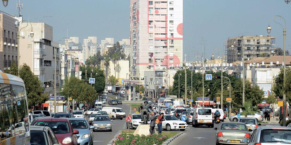 מרכז העיר. צילום: זאב שטרן