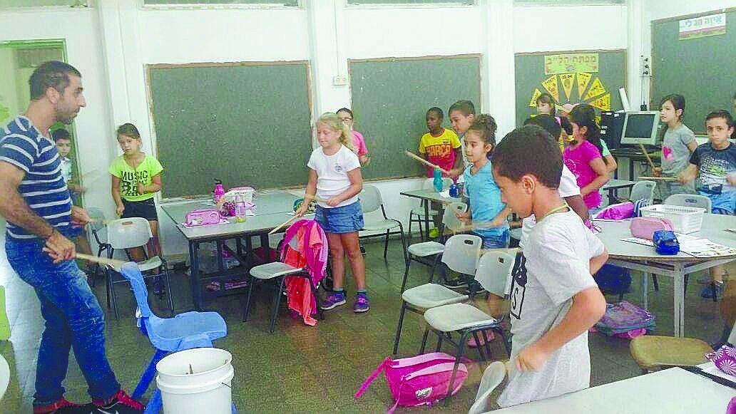 בית ספר של החופש הגדול. צילום: משרד החינוך