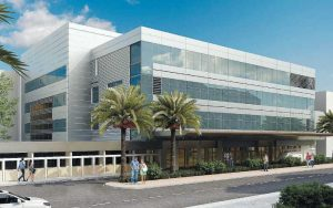 כך תיראה חזית בית חולים השרון הדמיה באדיבות מרכז רפאוירבין