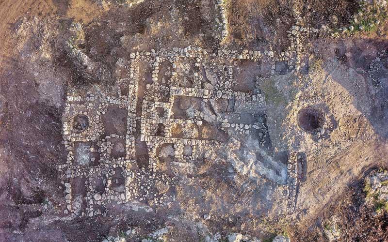 מבנה חווה עתיקה. צילום באדיבות רשות העתיקות