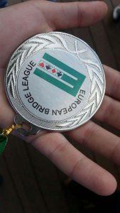 מדליית הכסף. צילום: באדיבות ההורים