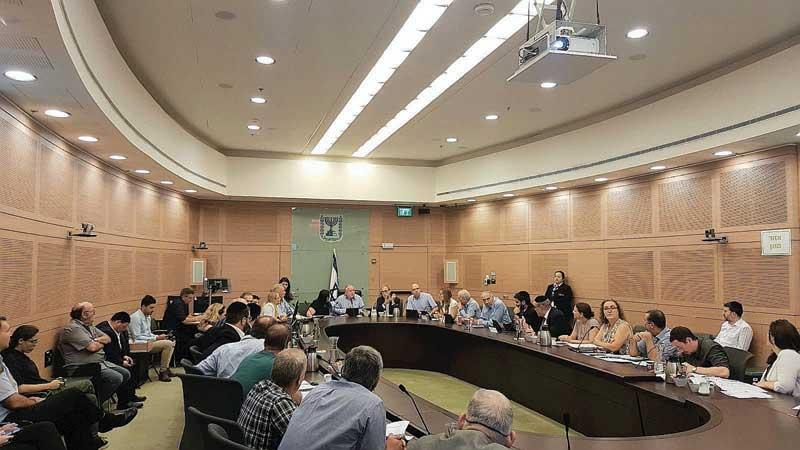 הדיון בוועדת הפנים של הכנסת היום