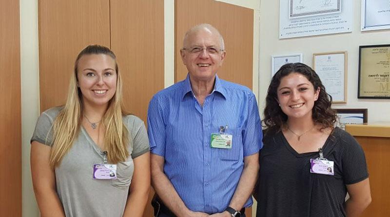 המתנדבות זהבה ואלס ורייצ'ל ספלאו. צילום: באדיבות בית רבקה