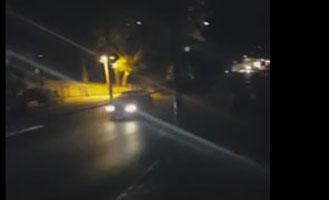 חשיכה בשכונת שעריה. מתוך הסרטון