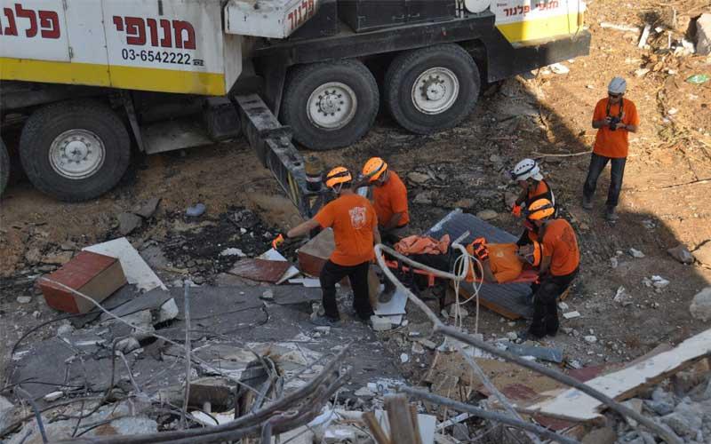 תרגיל חילוץ, צילום באדיבות עיריית רעננהרעידת אדמה