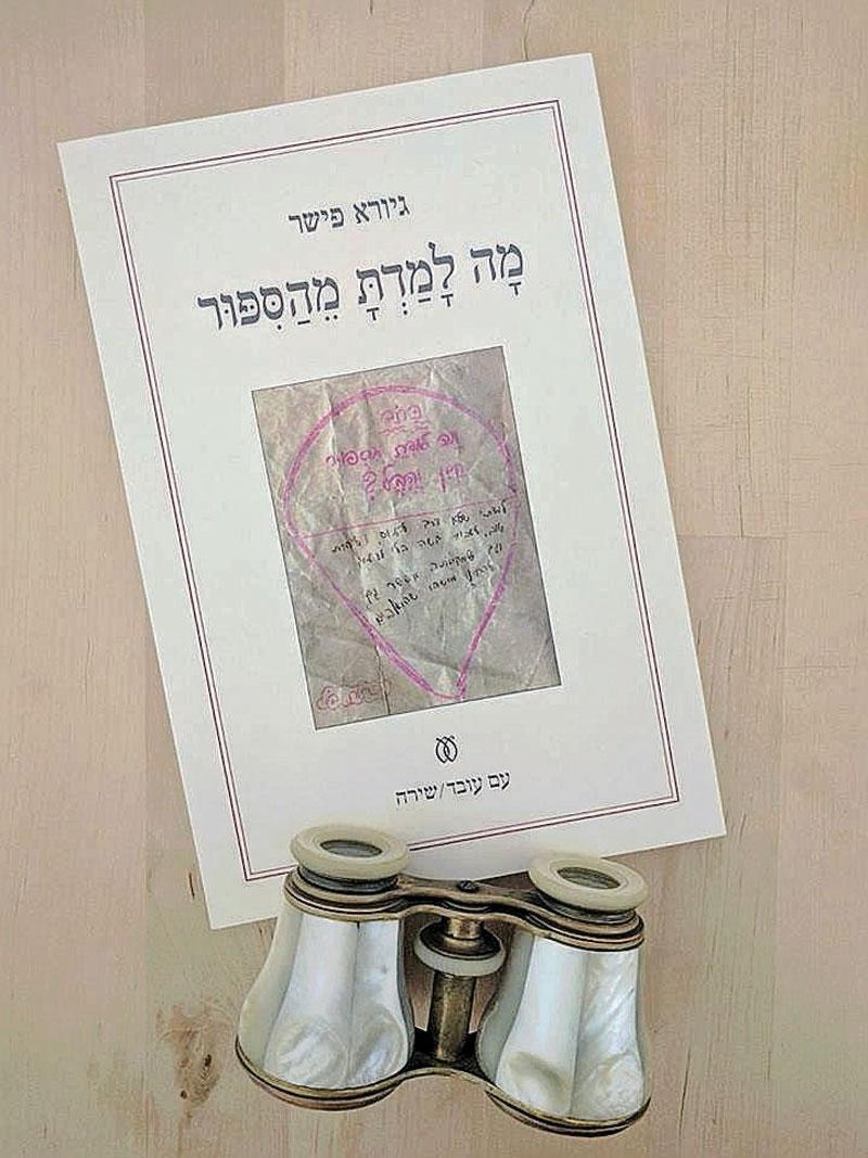 ספרו של גיורא פישר