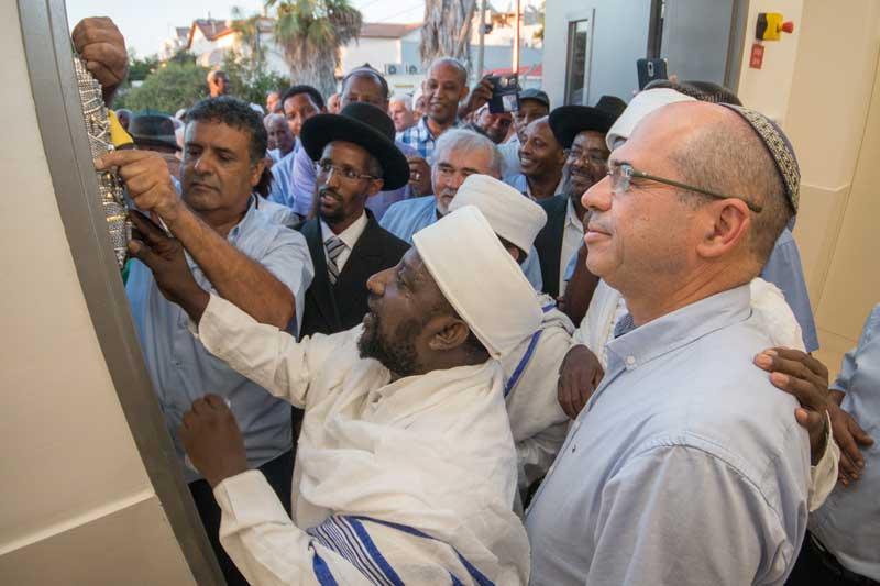 חנוכת בית מורשת רוחני לקהילת יוצאי אתיופיה
