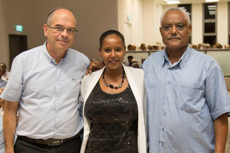 חנוכת בית מורשת רוחני לקהילת יוצאי אתיופיה. צילום לשכת הדובר