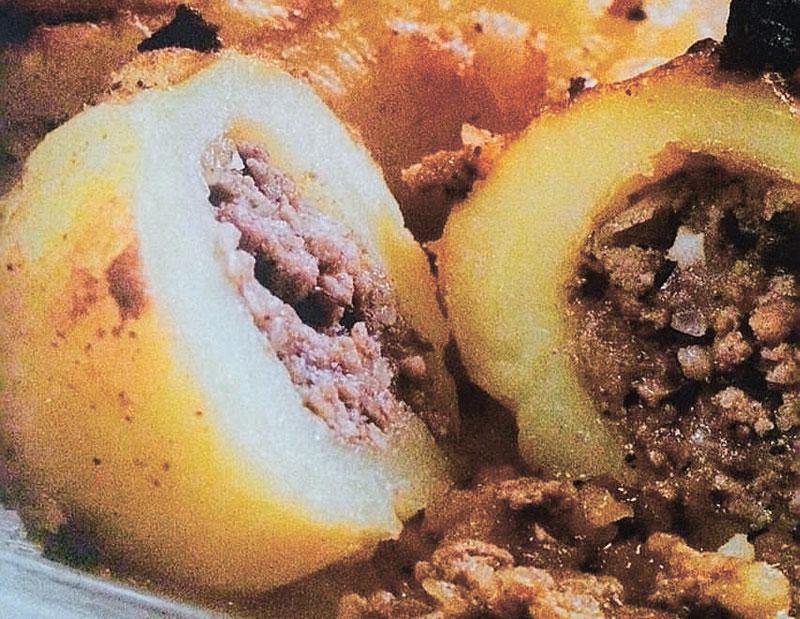 תפוח אדמה ממולא בבשר