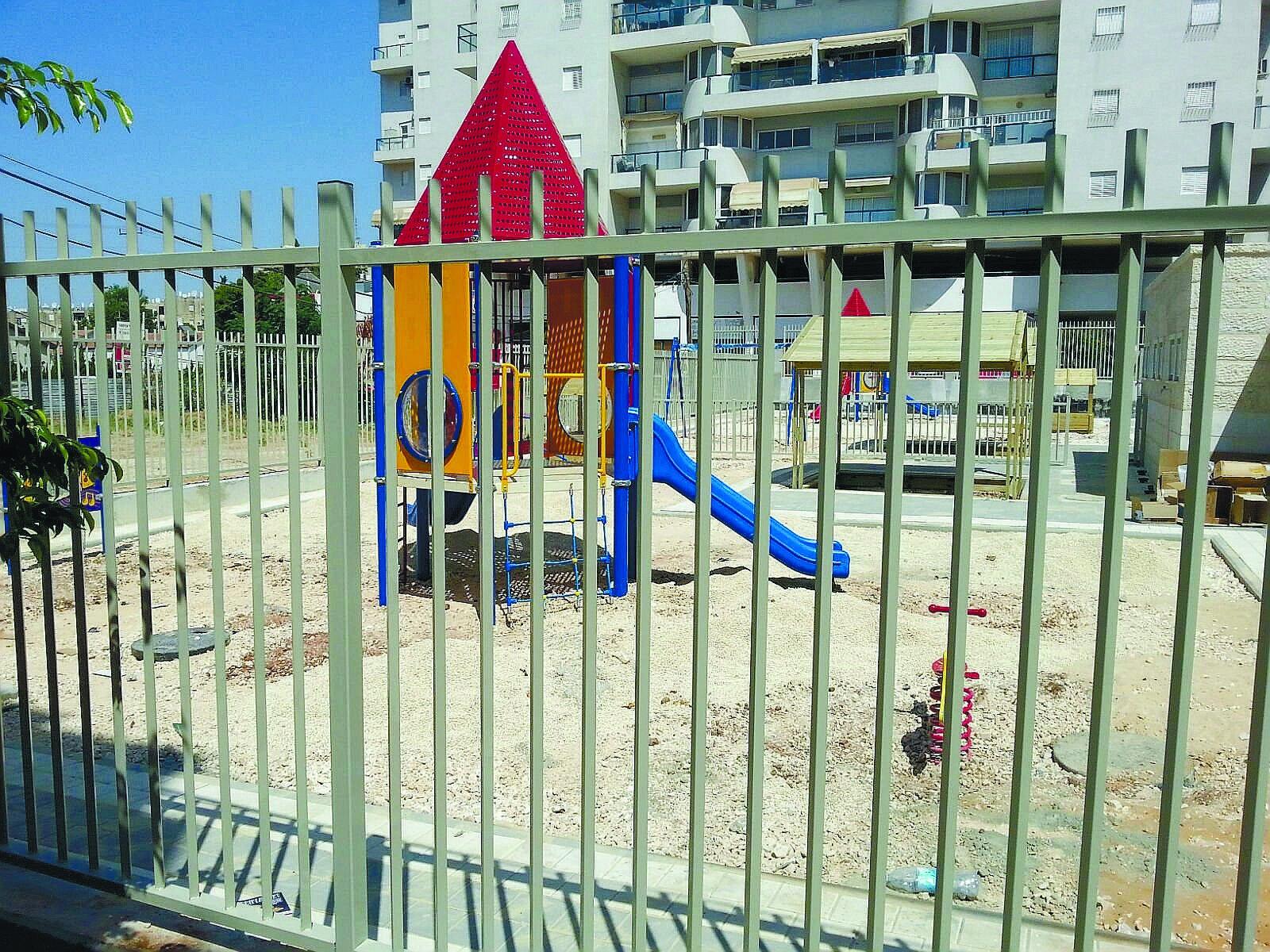 גני הילדים ברחוב ירון מאיה בשכונת מחנה יהודה גן מאור וגן אבן השמש
