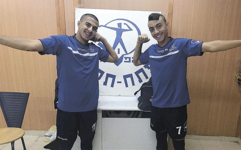 גולני (מימין) ונאווי