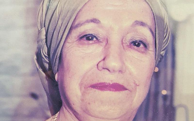 חנה יצחק. צילום באדיבות המשפחה