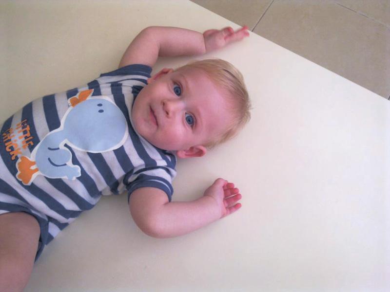 אבישי כתינוק. צילום פרטי