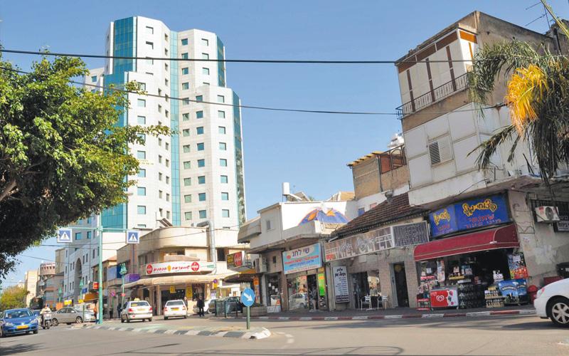 מרכז העיר. צילום זאב שטרן