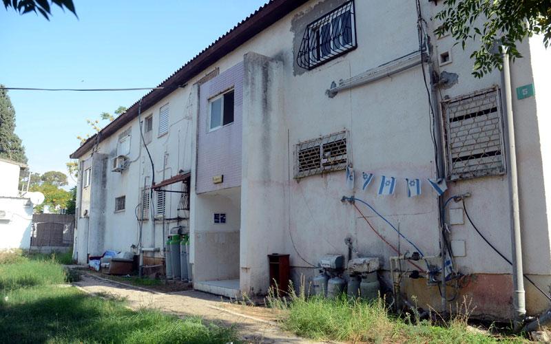 הבניינים שיהרסו בשכונת עמישב. צילום זאב שטרן