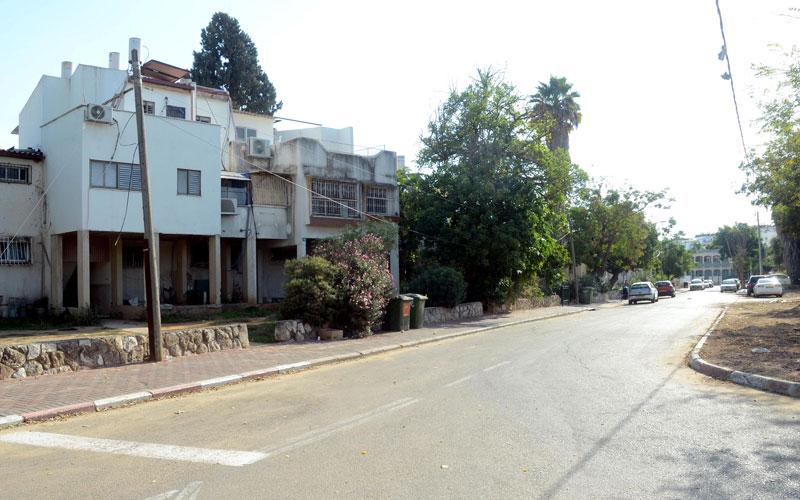 שכונת עמישב. צילום זאב שטרן