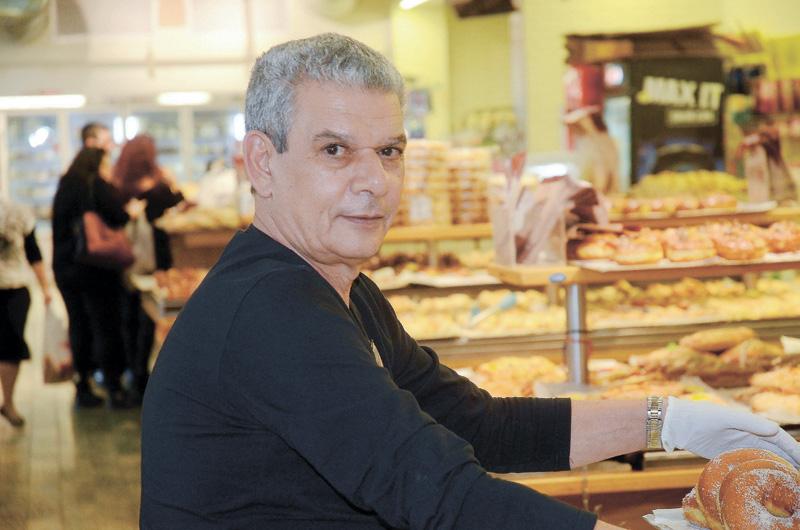 אבי האופה מבגדד. צילום זאב שטרן