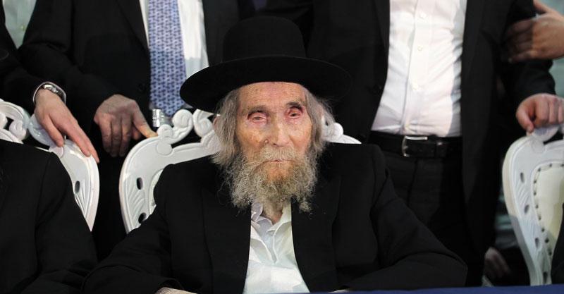 הרב אהרון לייב שטיימן. צילום אילן אסייג