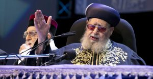 הרב עובדיה יוסף. צילום אוליבייה פיטוסי
