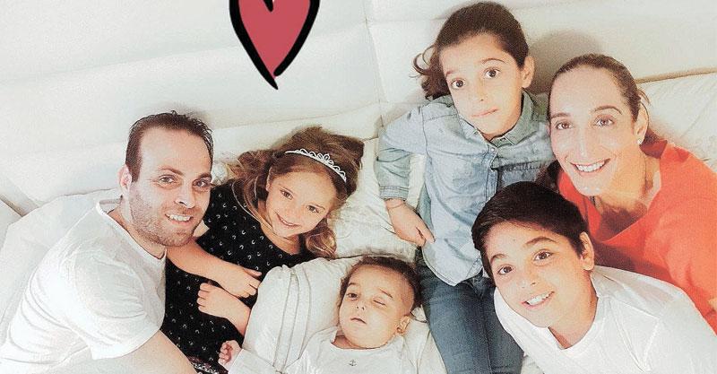 """משפחת אגמי עם ליאור בנימין ז""""ל"""