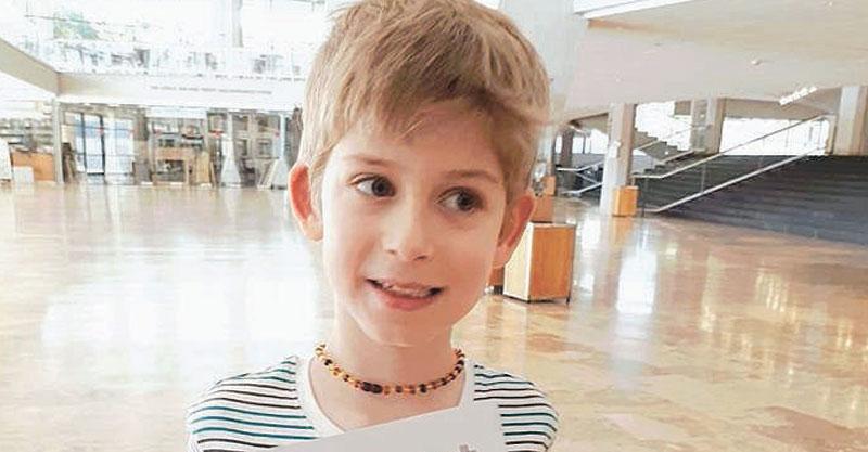 הנס בן 8