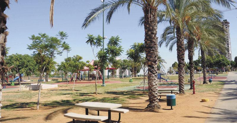 הפארק הגדול. צילום זאב שטרן