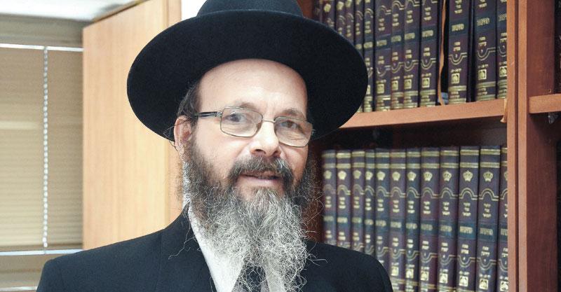 הרב מיכה הלוי. צילום זאב שטרן
