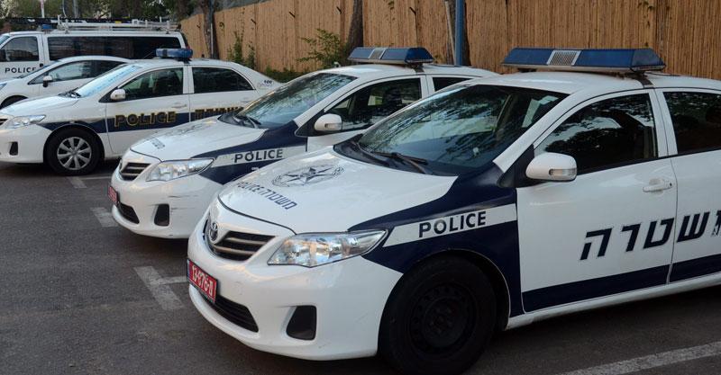 ניידת משטרה. צילום זאב שטרן