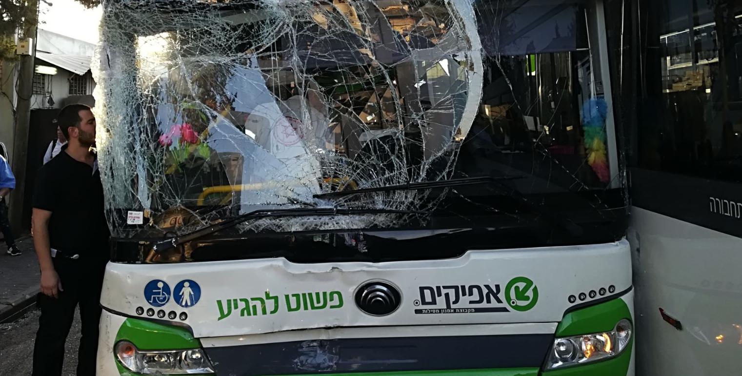 תאונת האוטובוסים בתחנה המרכזית צילום איחוד הצלה