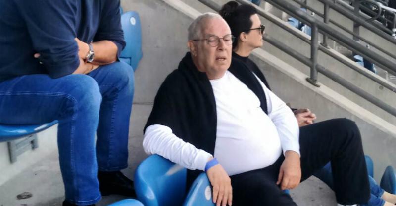 """חיים כהן ביציע """"ראש הזהב"""" העונה"""