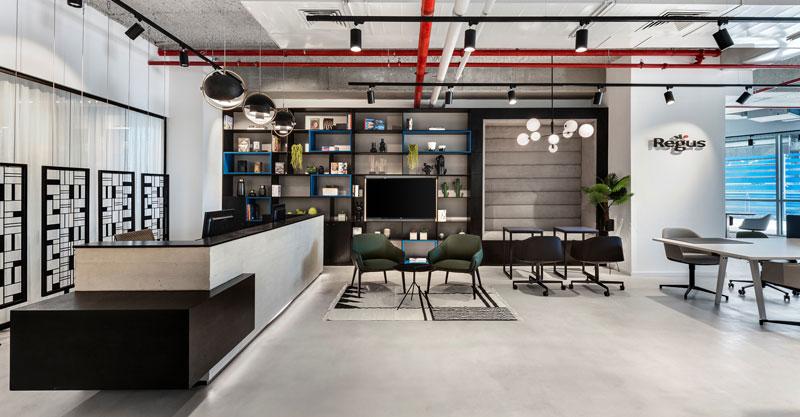 משרדי ריג'ס. צילום עודד סמדר עיצוב אורלי דקטר