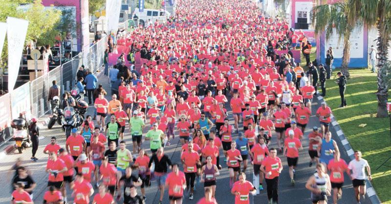 מרתון תל אביב. צילום ניר קידר