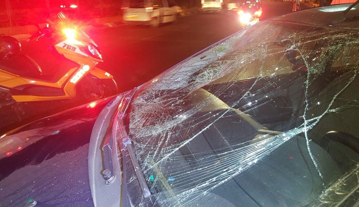 הרכב בזירת התאונה צילום איחוד הצלה