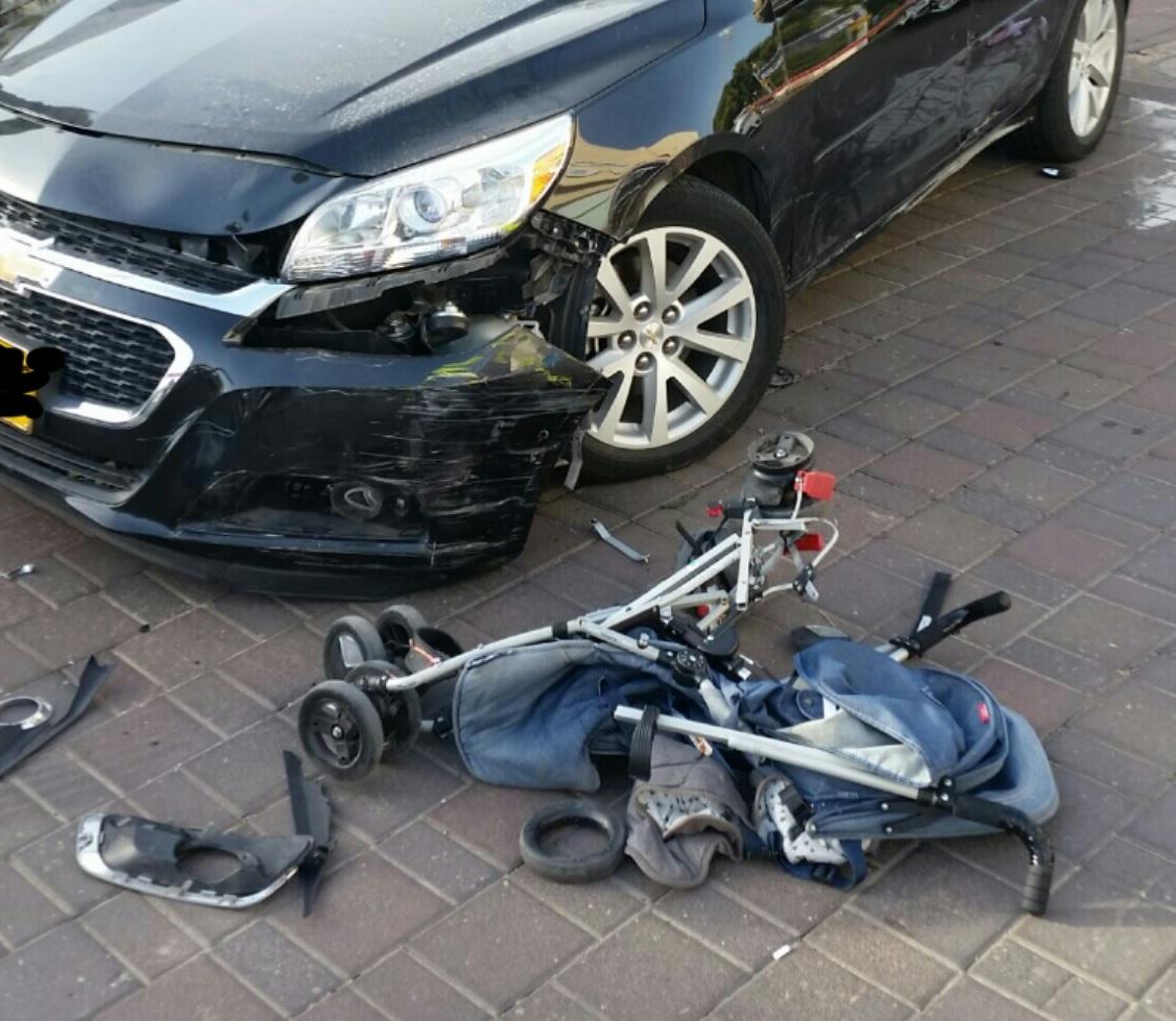התאונה ביכין סנטר צילום זאב שטרן
