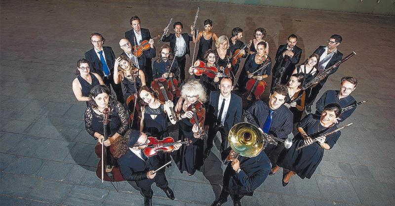 """התזמורת הקאמרית הישראלית צילום יח""""צ"""