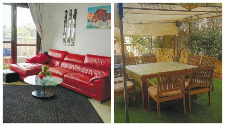 דירת גן 4 חדרים בשכונת נווה אפק, ראש העין ודירת 5 חדרים ברחוב עזריאל שבשכונת נווה דקלים פתח תקוה