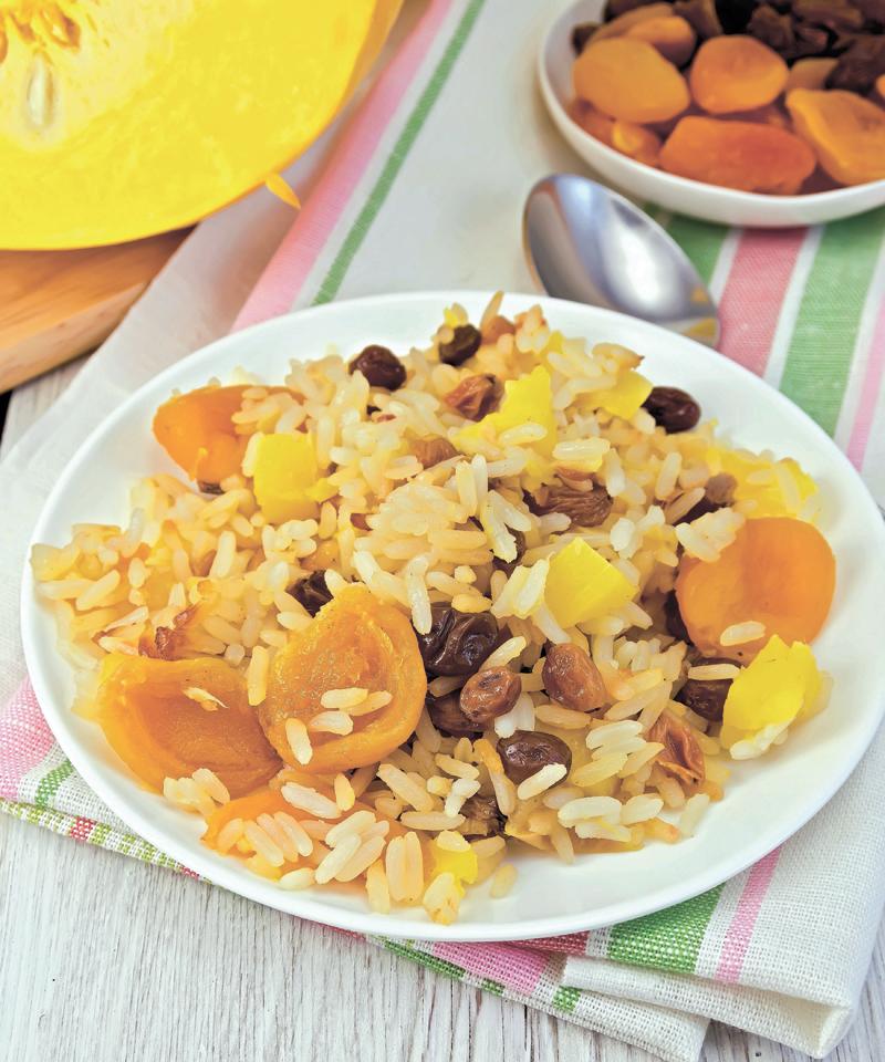 אייל גליק - אורז עם פירות יבשים. צילום א.ס.א.פ קריאייטיב/INGIMAGE