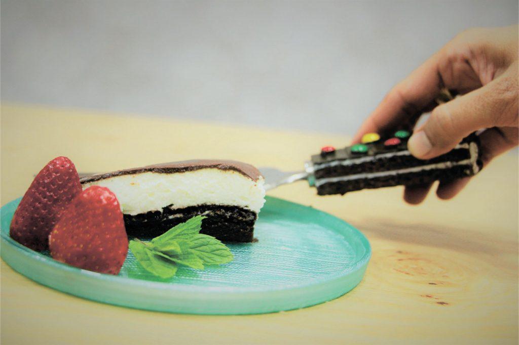 עוגת 3 שכבות (כשרה לפסח)