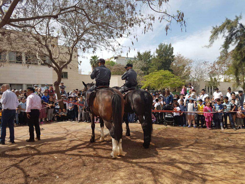 יום קהילה ומשטרה בשכונת עמישב2 צילום פרטי