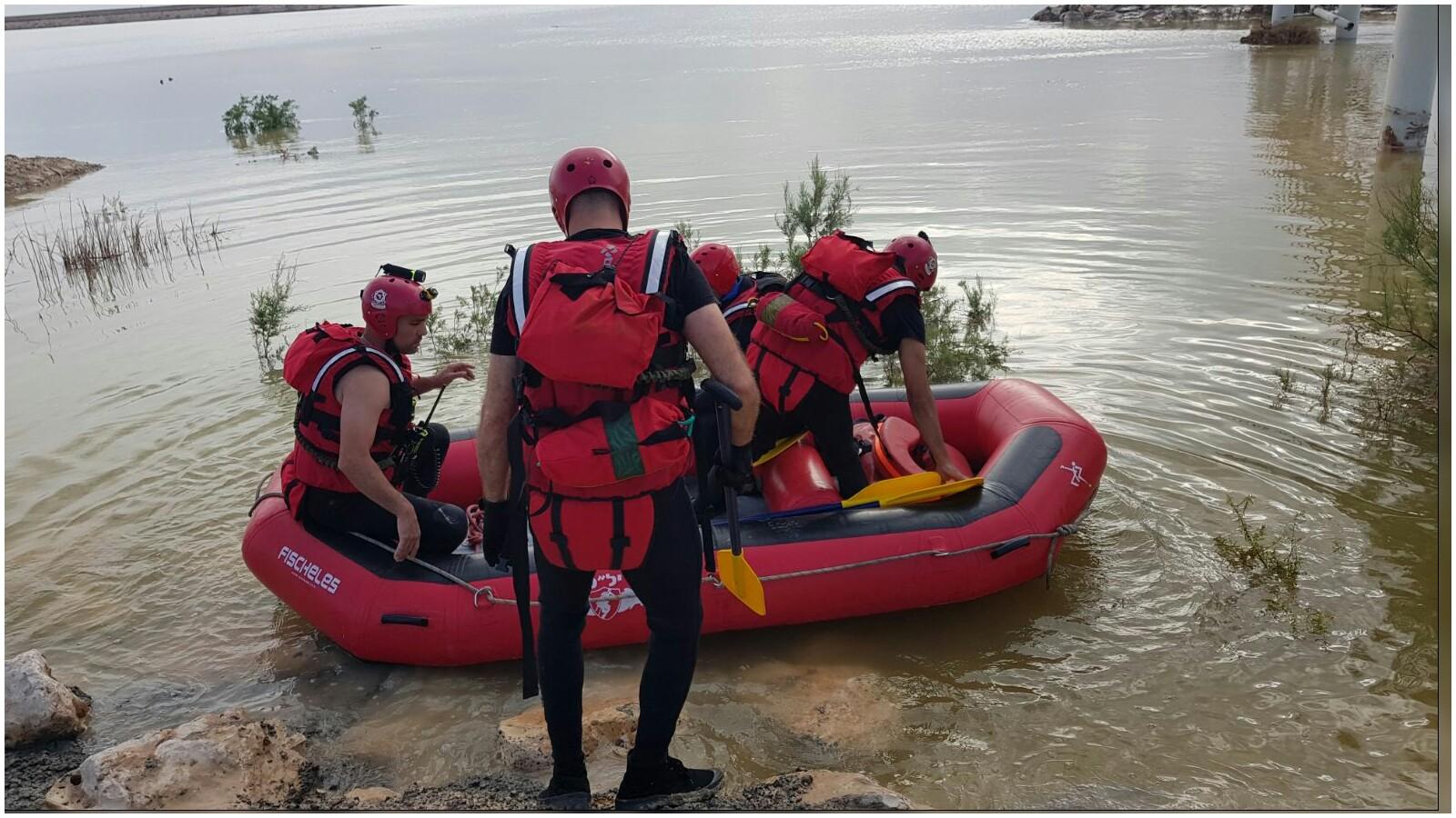 חילוץ בדרום צילום פתח תקוה