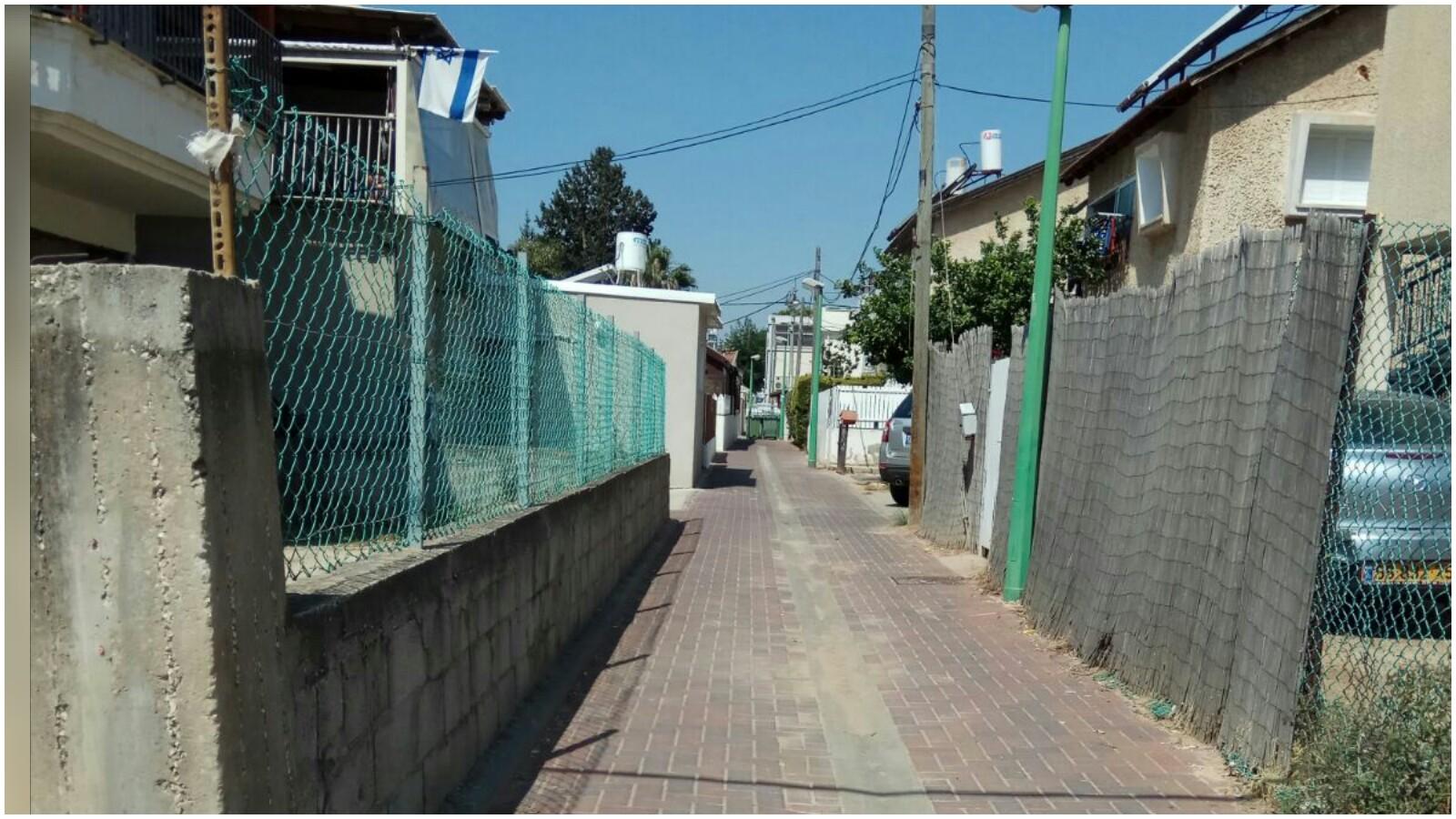 רחוב חברון בשעריה