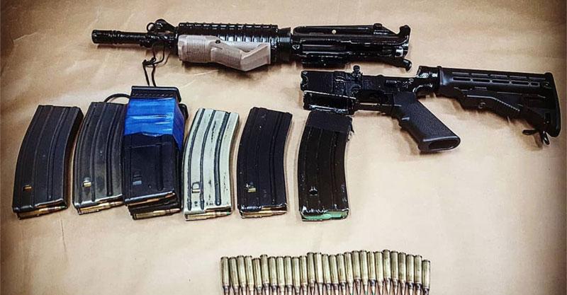הנשק שנתפס צילום באדיבות המשטרה