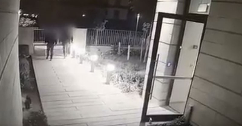 החשודים בפריצה לרכבים בסרטון המשטרתי