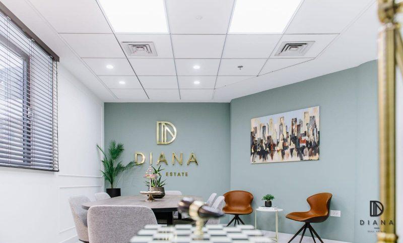 משרד התיווך Diana Real Estate (צילום: פינגווין-צלמים)