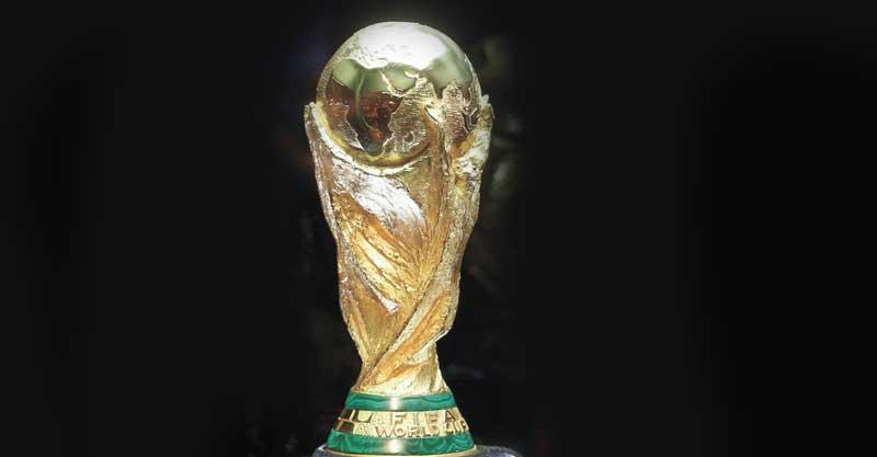 גביע המונדיאל. צילום AP