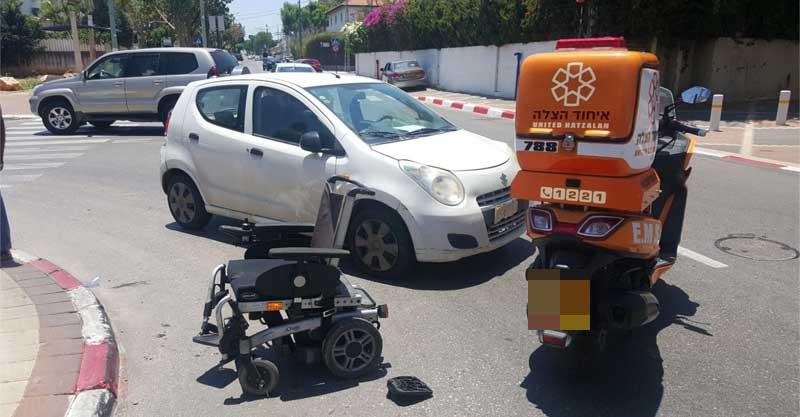 זירת אחת התאונות צילום דוברות איחוד והצלה