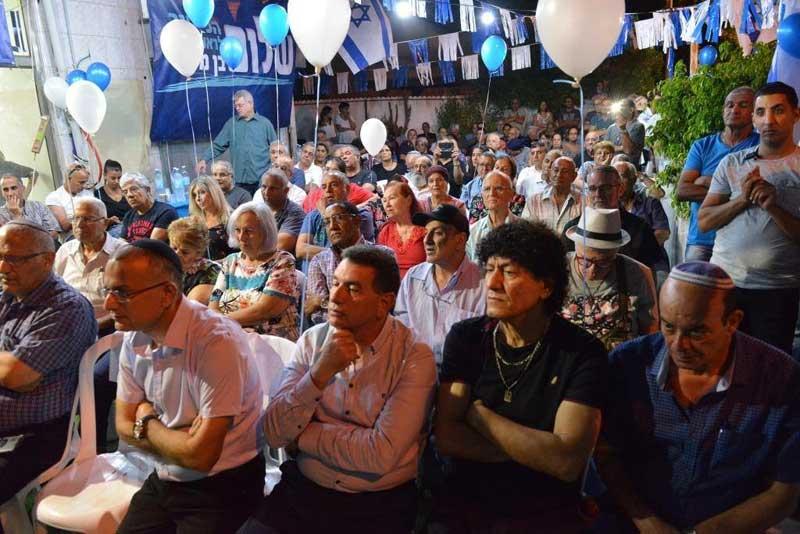 """השקת הקמפיין של שלום בן משה. צילום יח""""צ"""